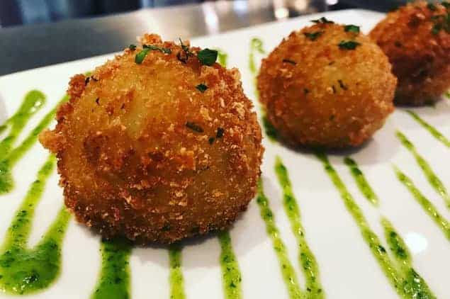 FRIED YUCA CROQUETTES